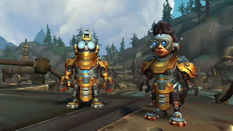 World of Warcraft - screenshot of Mechagnomes