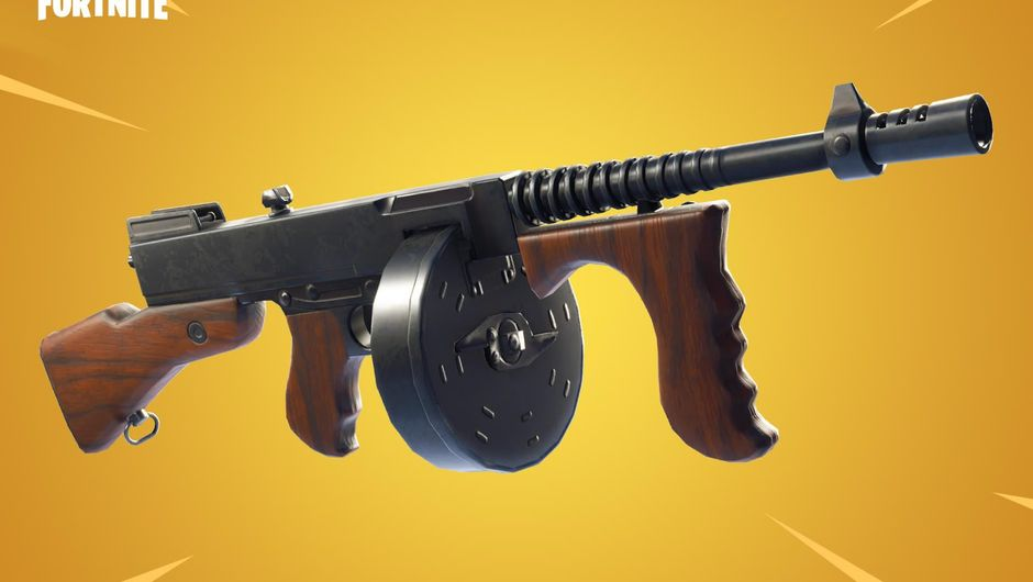 Newly added Fortnite: Battle Royale weapon called Drum Gun