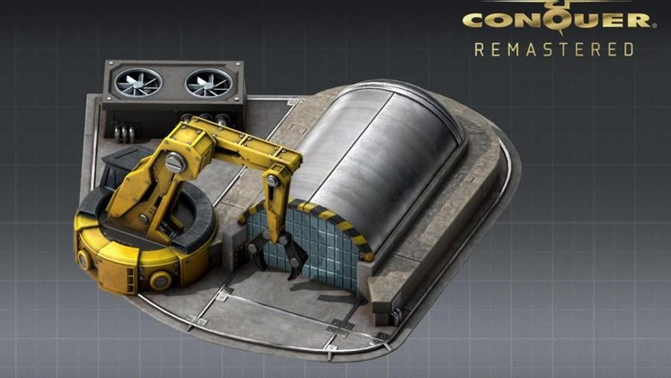 Construction Yard from the remastered Command & Conquer