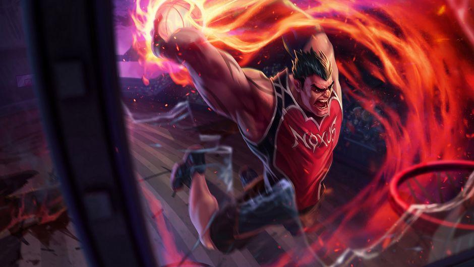 League of Legends champion Darius Dunkmaster skin