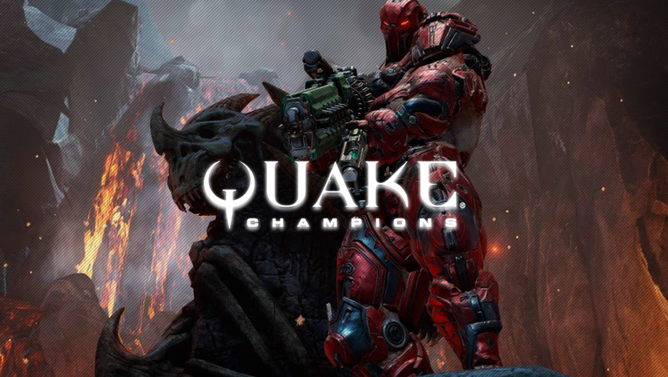 A Quake champion in-game screenshot