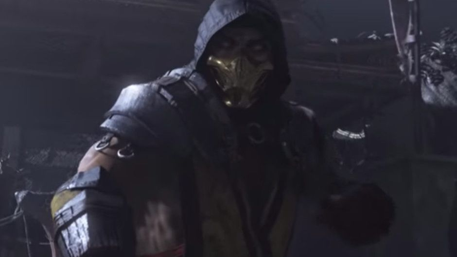 Picture of Scorpion from Mortal Kombat 11 announcement trailer