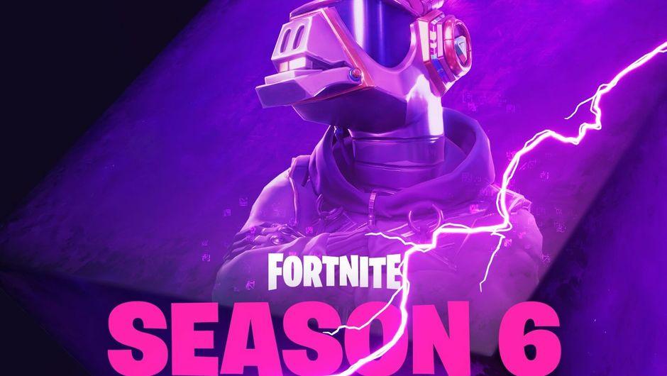 Epic Games' teaser for Fortnite's Season 6 showing a llama DJ