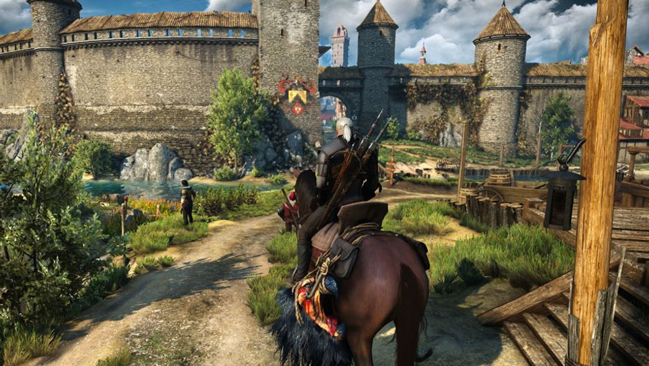 the witcher 3 screenshot showing Super Turbo Lightning mod