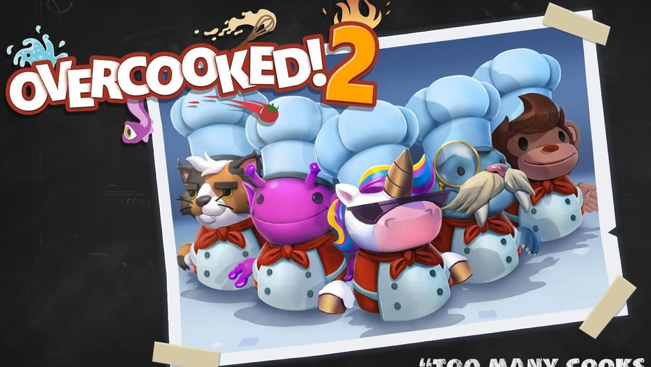 Five extra chefs received when preordering Overcooked 2