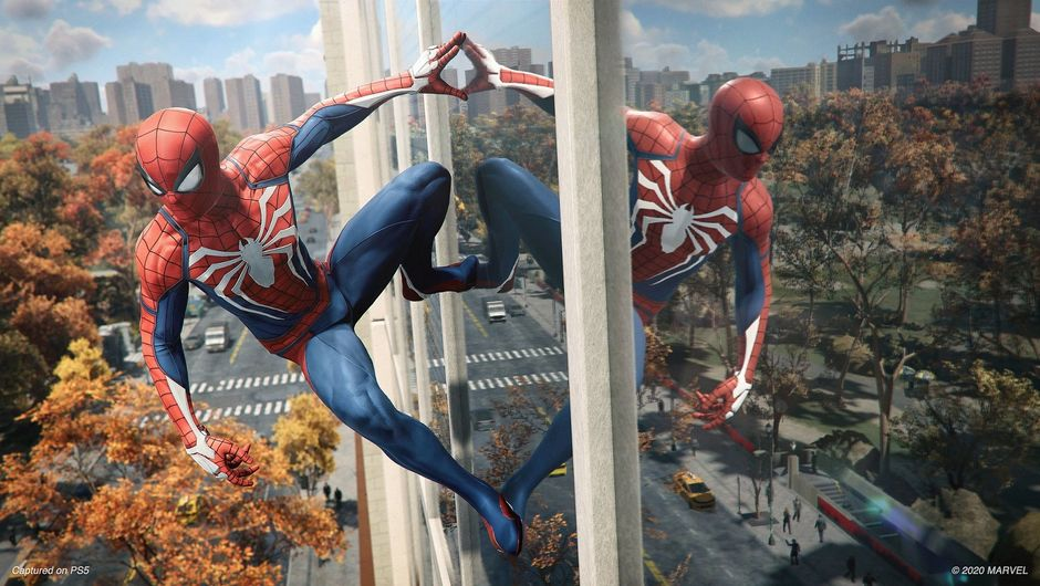 Marvel's Spider-Man: PS4 vs PS5 graphics comparison video