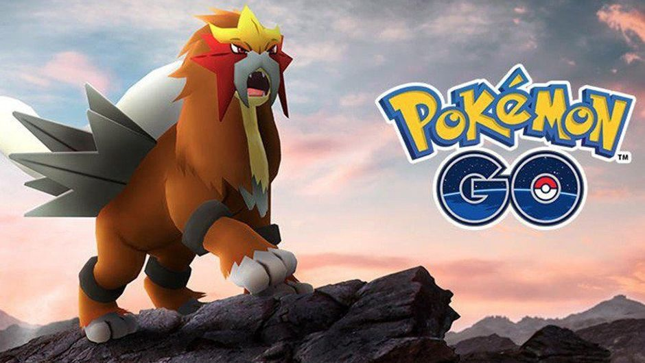 Picture of Entei from Pokemon Go