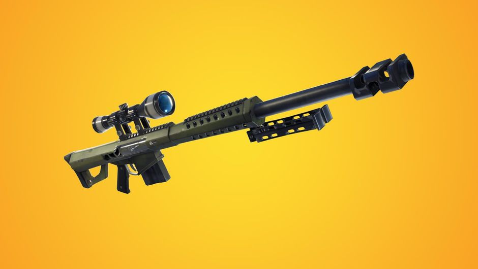 Latest addition to Fortnite: Battle Royale - heavy sniper rifle
