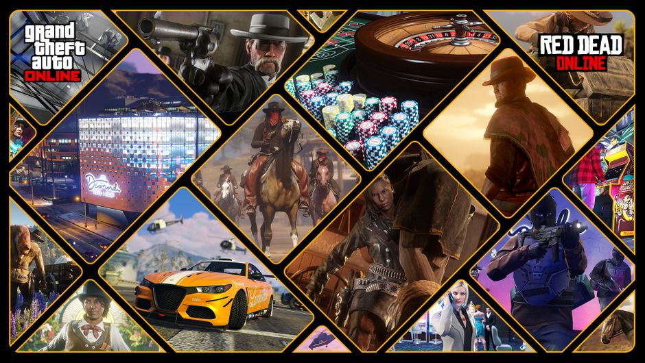 GTA Online and Red Dead Online
