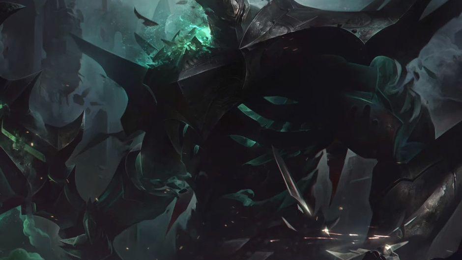 Picture of Mordekaiser splash art in League fo Legends
