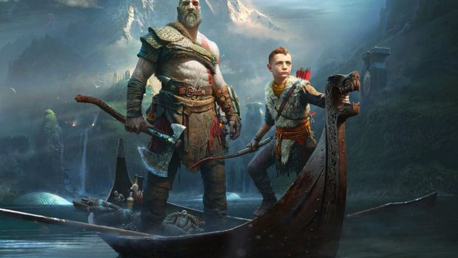 picture showing two characters on a boat