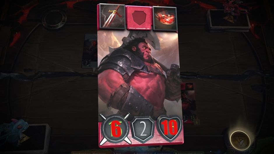 Picture of Axe from Valve's TCG Artifact