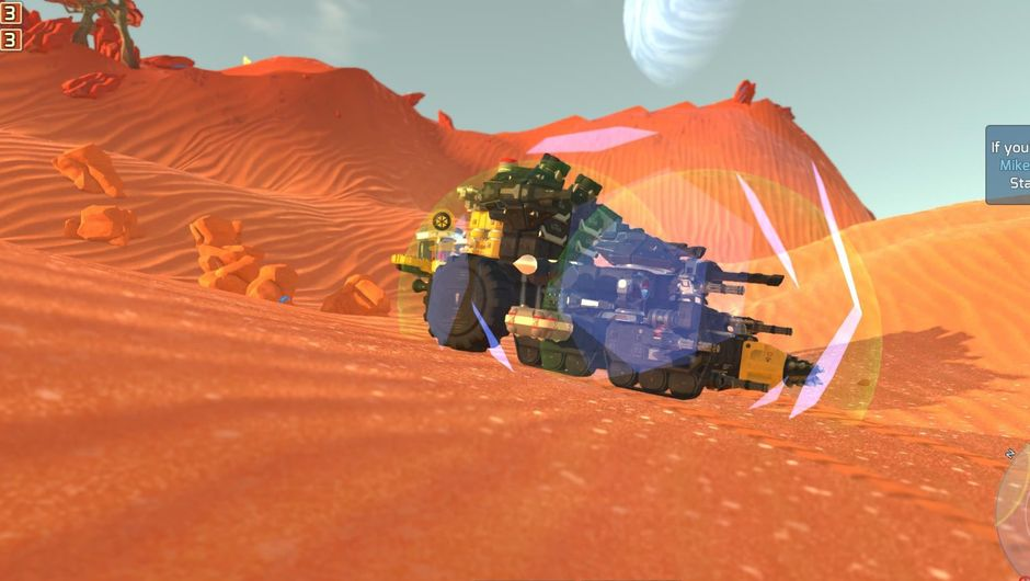 A player-made tech from the game TerraTech