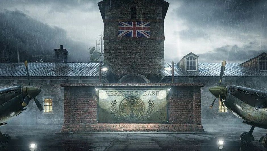 Picture of the new Hereford Base map in Rainbow Six Siege