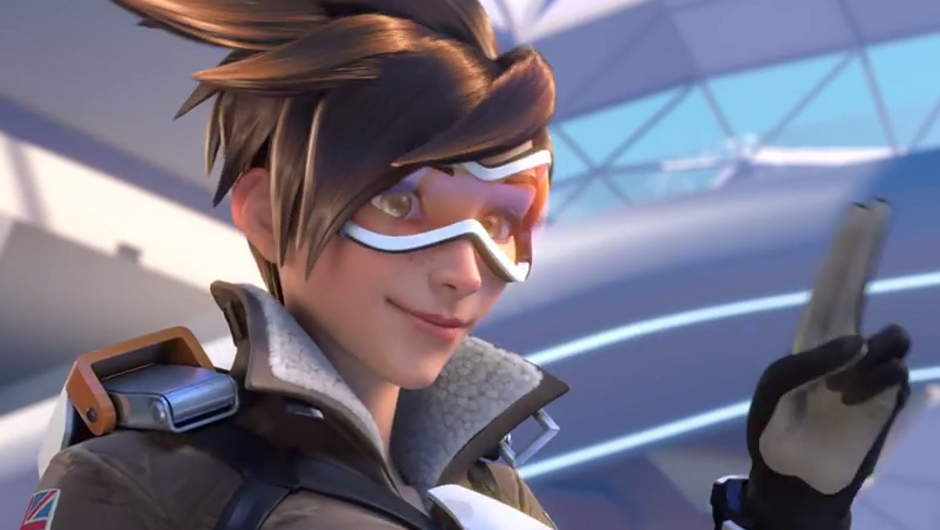 Picture of Tracer from Overwatch
