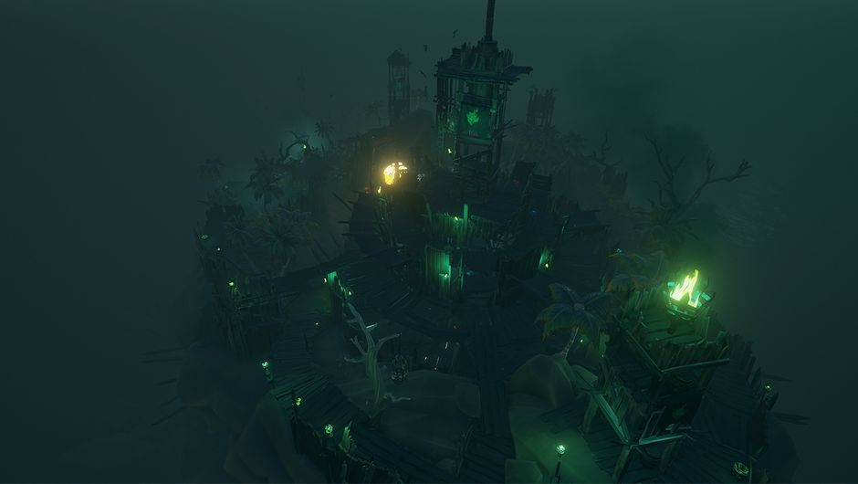 screenshot showing fort of the damned