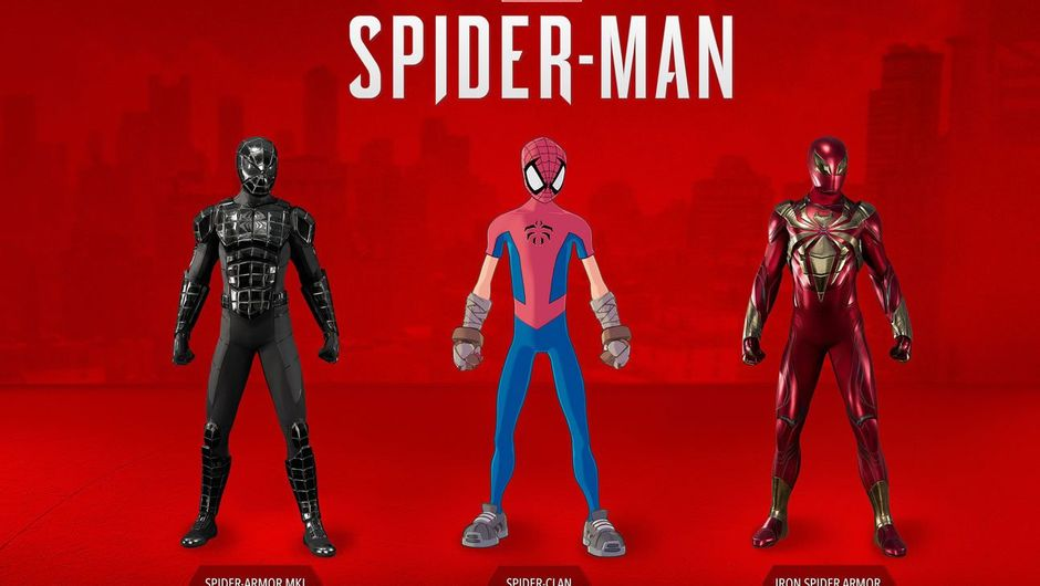 Three Spider-man suits coming with Turf Wars DLC