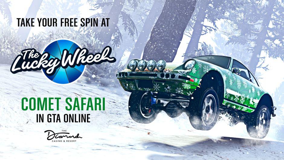 GTA Online Lucky Wheel Comet Safari promo image