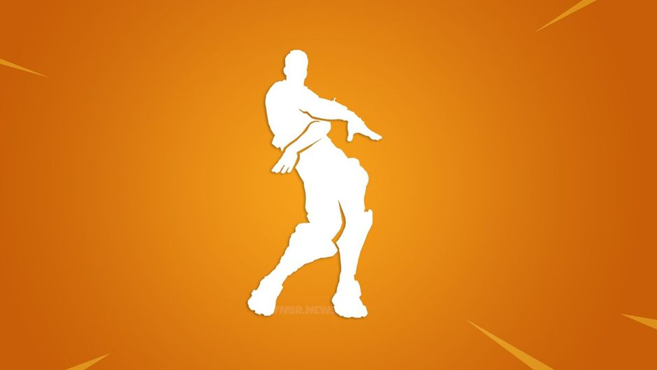 Picture of the Orange Justice emote from Fortnite