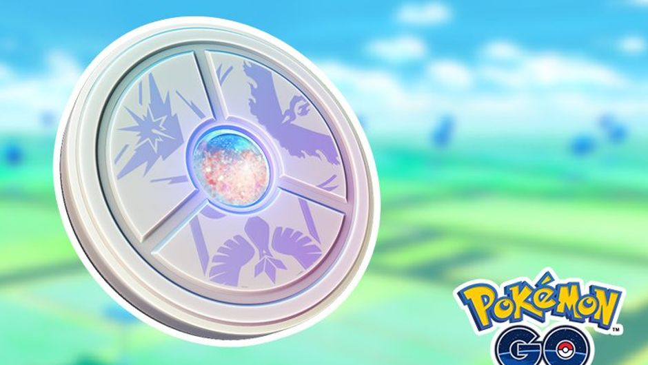 Picture of the Team Medallion from Pokemon GO