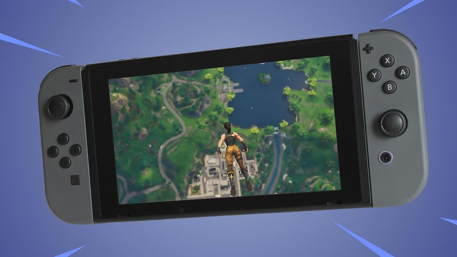 Photoshop of Fortnite: Battle Royale on Nintendo's Switch