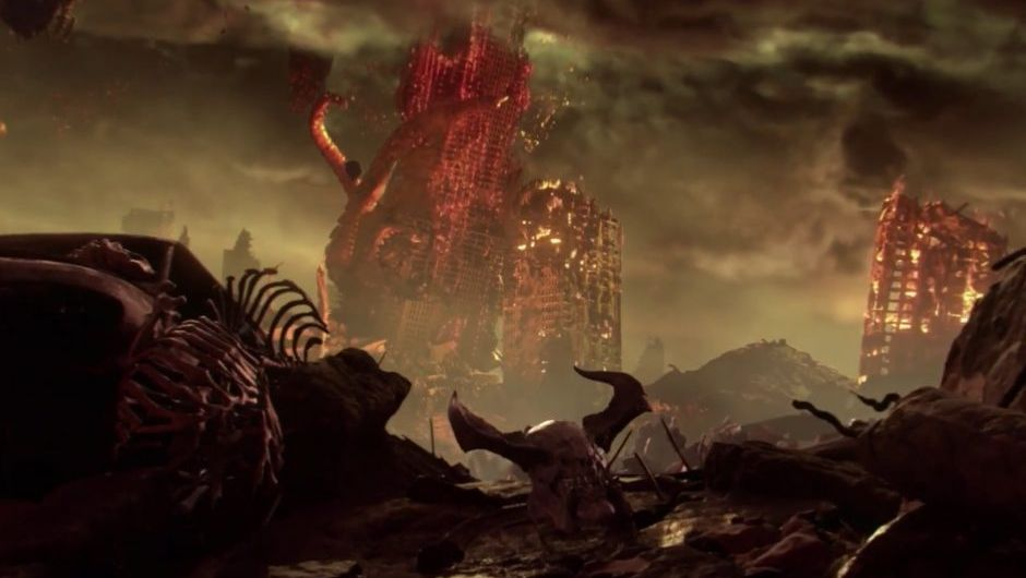 Earth devastated by demonic forces