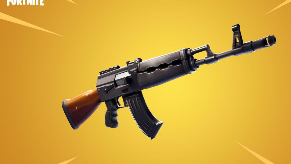 Heavy assault rifle, November 2018 addition to Fortnite
