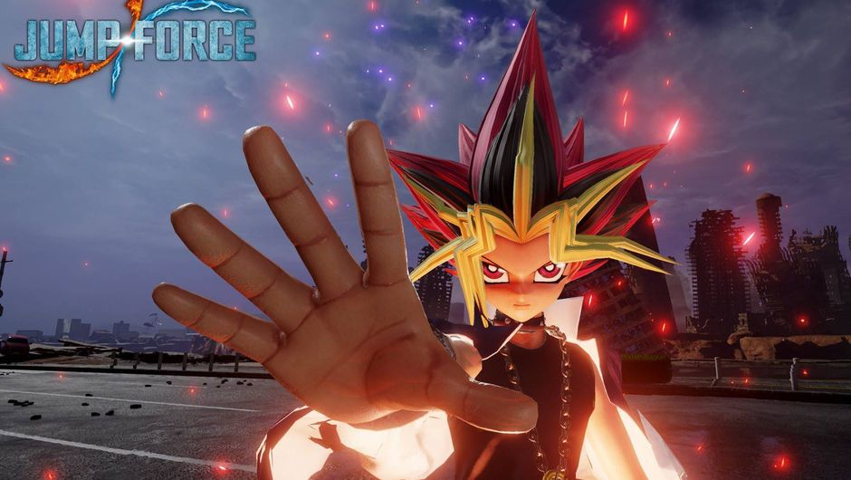 Picture of Yugi from Yu-Gi-Oh! in Jump Force