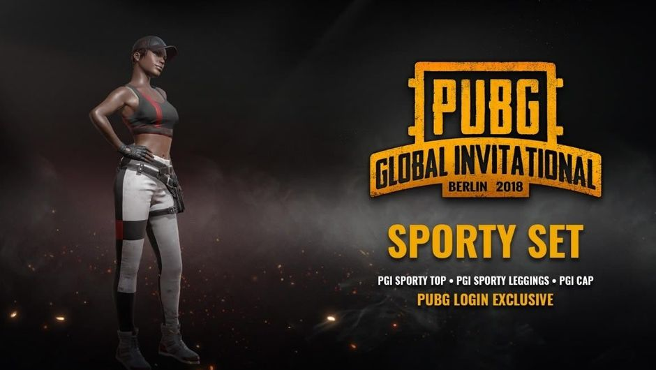 PUBG Corp's new PGI flavoured skin called The Sporty Set