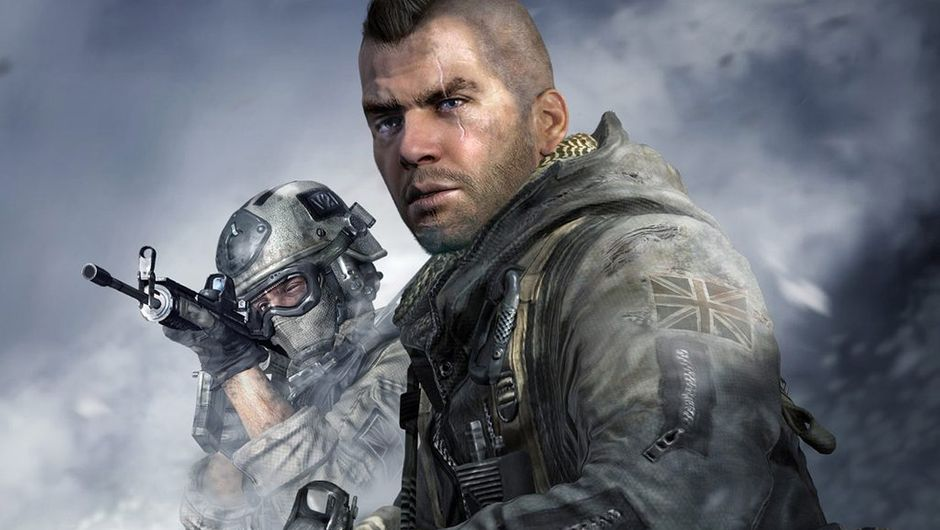 Picture of Soap and Roach in Call of Duty: Modern Warfare 2