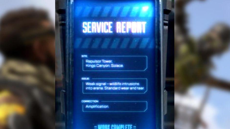 Apex Legends tweet about Repulsor Towers