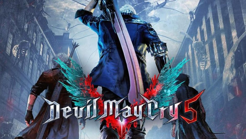 Main poster for Capcom's game Devil May Cry 5