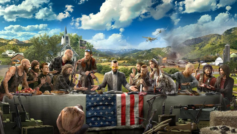 Far Cry 5 cover photo