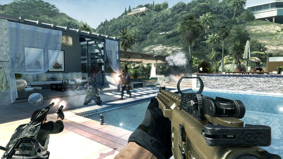 screenshot showing Face-off mode from MW3