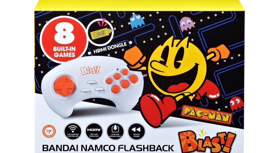 Picture of the Bandai Namco Flashback Blast package