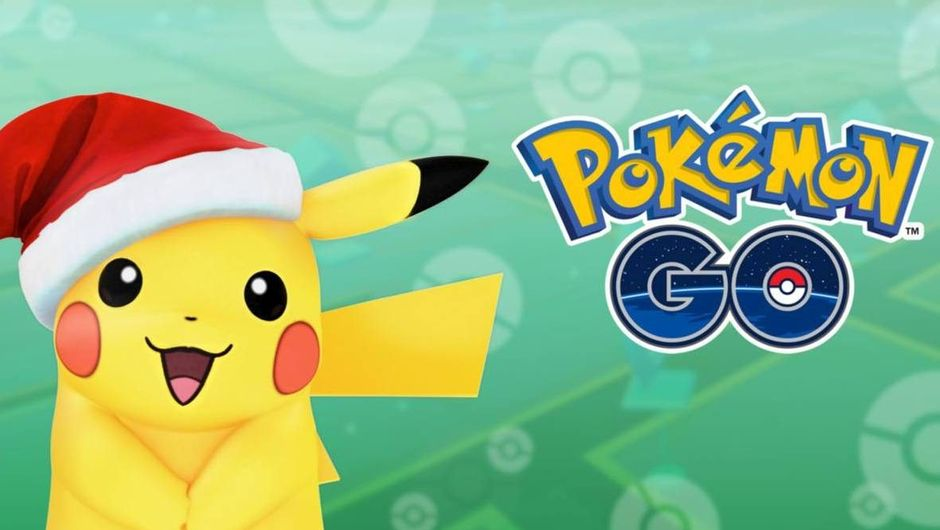 Holiday Pikachu in Pokemon GO