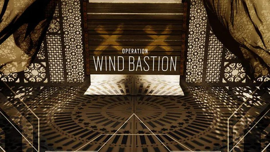 Promotional image for Rainbow Six Siege Operation Wind Bastion