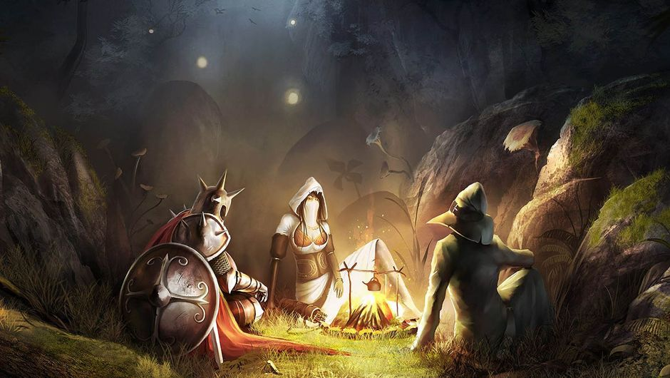 Picture of the three characters from Trine 2