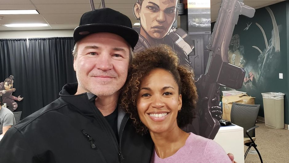 Vince Zampella and Erica Luttrell a.k.a. Bangalore