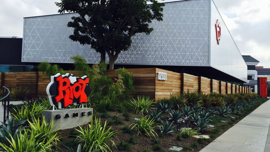 Picture of the Riot Games campus in Los Angeles