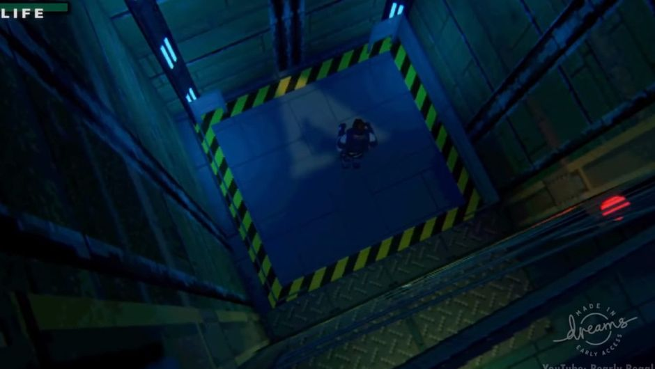 Picture taken from the Metal Gear Solid remake in Dreams