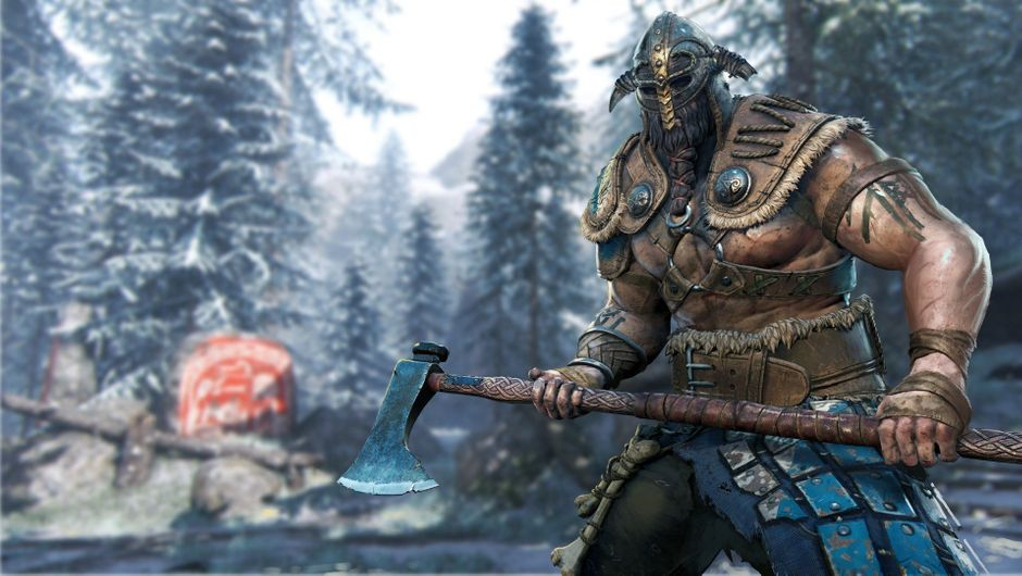 A viking in For Honor