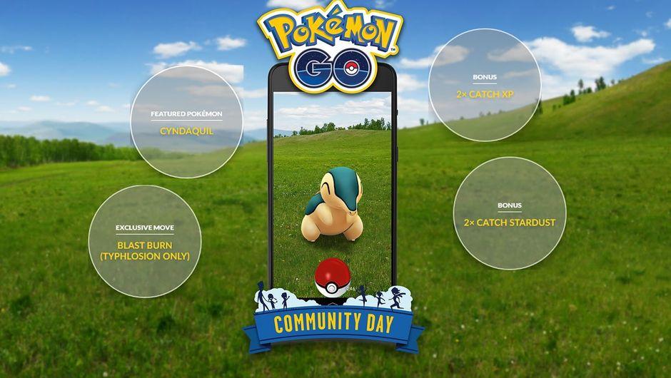 Pokemon GO, 10 November 2018, Community Day schedule