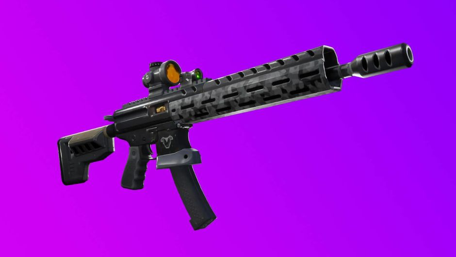 Fortnite: Battle Royale's newly added Tactical Assault Rifle