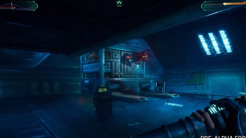 picture showing gameplay from system shock
