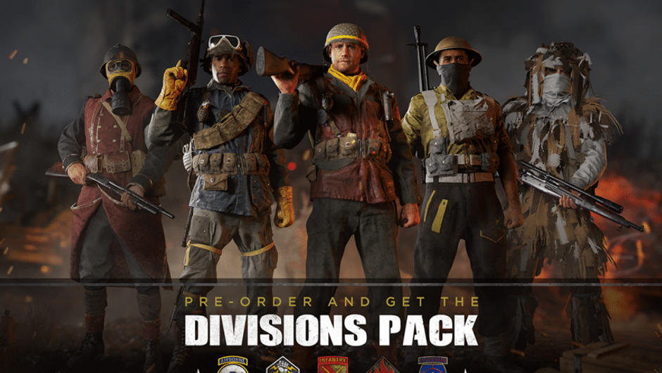 Call of Duty: World War II divisions dlc