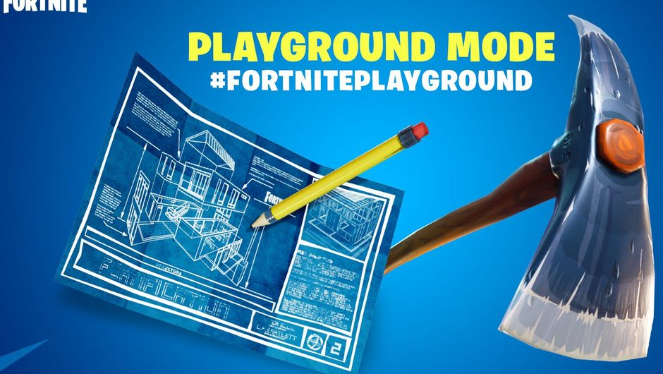 Fortnite is bringing new time limited mode in the 4.5 update called Playground
