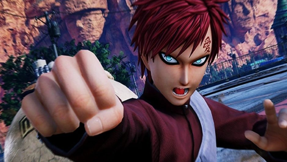 Gaara of the Suna village in Jump Force.