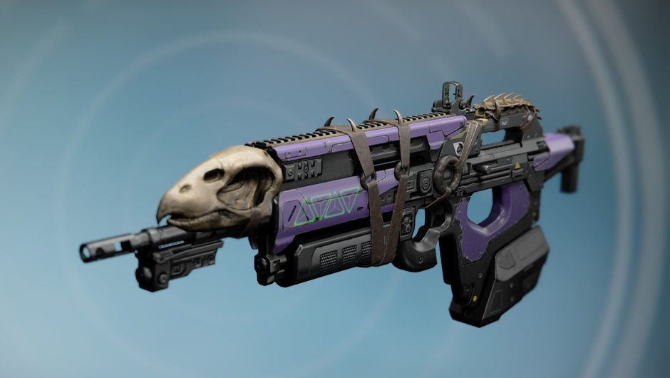 Picture of the Bad Juju weapon from Destiny