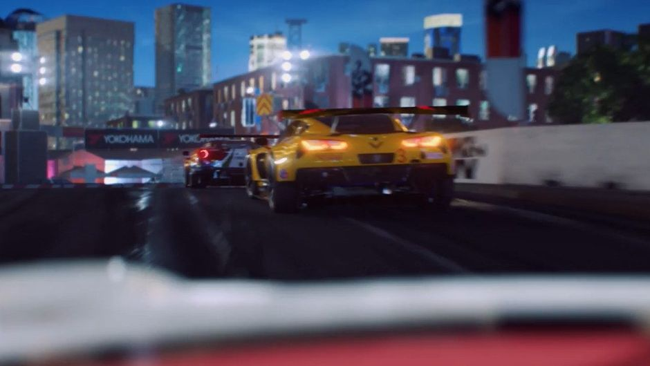 Picture taken from the trailer of Codemasters' new GRID